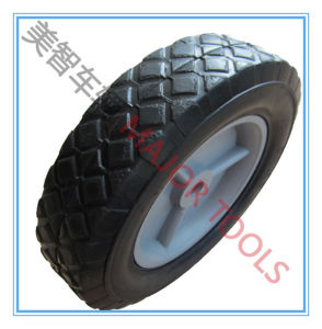 8X1.75 Solid Rubber Wheel with Offset Hub for Carts pictures & photos