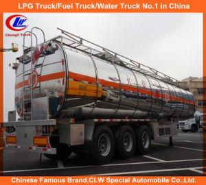 42000 Liters Heavy Duty 3 Axle Aluminum Fuel Tank Trailer pictures & photos