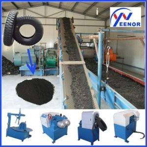 Waste Tire Recycling Line / Rubber Powder Making Machine / Crumb Rubber Powder Machine pictures & photos