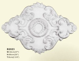 Polyurethane Ceiling Medallion Ceiling Cornices pictures & photos