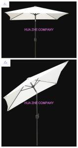 Hz-Um143 7X7ft (2X2m) Round Umbrella Crank Umbrella with Tilt Outdoor Parasol Garden Umbrella Patio Umbrella pictures & photos