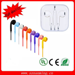 Hot! ! ! Remote and Mic for iPhone5 Earphone pictures & photos