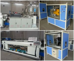 PE Pipe Extrusion Making Machine with CE and ISO pictures & photos