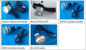 RF Cavitation Vacuum Lipo Laser Cryolipolysis Slimming Machine pictures & photos