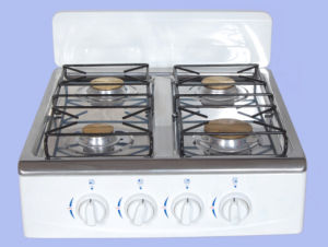 4 Burner Gas Stove with Windguard