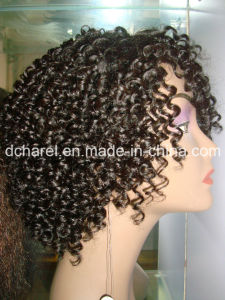 Kanekalon Synthetic Fiber Machine Made Wigs for African Women pictures & photos