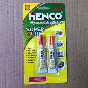 Liquid Super Glue in Aluminium Tube 3G/Tube 2PCS/Tube pictures & photos