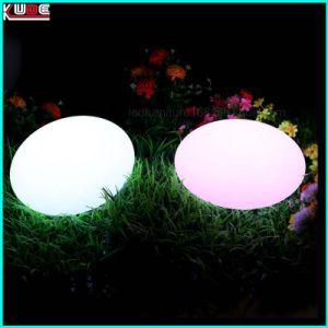LED Egg Shape Lamp Outdoor LED Egg Light pictures & photos