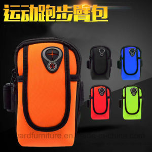 2017 New Trend Outdoor PVC Armband Bag for Smart Phone Sport Running Cycling Jogging pictures & photos