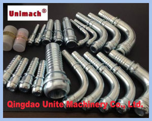 DIN Hydraulic Metric Fittings Use with Spiral Hoses pictures & photos