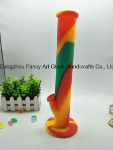 Good Quality Silicone Water Pipe with Silicone Downstem 17inch pictures & photos