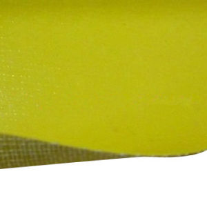 Anti-UV and Fire Retardant Glass Fiber Tent Fabric with PVC Coating pictures & photos