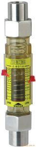 Flange Plastic Flowmeter Liquid Rotameter Air Water Rota Flow Meter pictures & photos