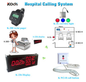 Hospital Nurse Call System Wireless Pager Device Used in The Hospital, Clinic pictures & photos
