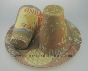 Bamboo Fiber Tableware Combination Series with Printed (BC-CS1005) pictures & photos