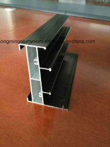 Wood Grain Aluminium Profile for Windows and Door, Anodizing, Polishing pictures & photos