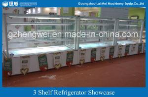 3 Shelf Standing Type Refrigerator Showcase