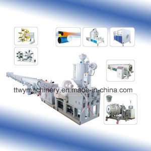 HDPE Water Supply and Gas Pipe Extruder pictures & photos