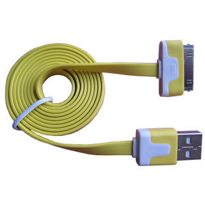 Colorful Noodle Flat USB Data Cable for iPhone iPad pictures & photos