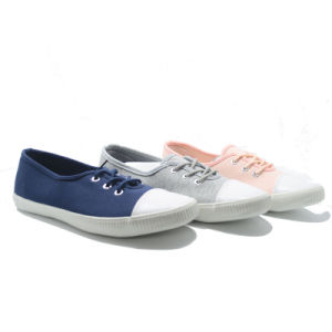 Colors Comfortable Leisure Basic Classical Student Canvas School Shoes pictures & photos