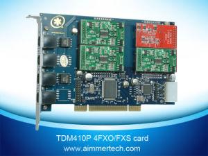 Tdm410p 1FXO&3FXS Asterisk Card Support Asterisk /Trixbox/Elastix