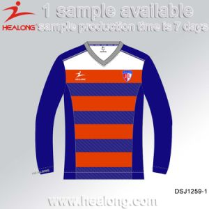 Healong Cheapest Sublimation Plain Football Jersey pictures & photos
