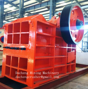 PE Series Jaw Crusher/Stone Crusher with Good Quality pictures & photos