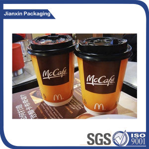 Customize Hot Paper Cup with Lid pictures & photos