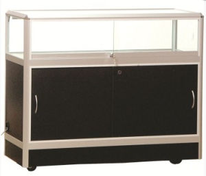 Aluminum Portable Exhibition Stand Display Modular Showcase Cabinet (GC-CDC) pictures & photos