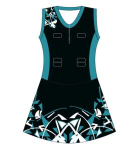 Custom Dye Sublimated Netball Jersey pictures & photos