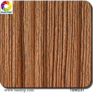 Tsautop 1 Meter Straight Wood Water Transfer Printing Hydrographic Films pictures & photos