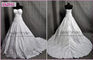 A-Line Wedding Dress (AS2042)