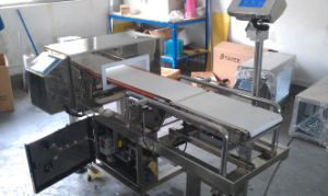 Combo Metal Detector and Check Weigher Factory pictures & photos