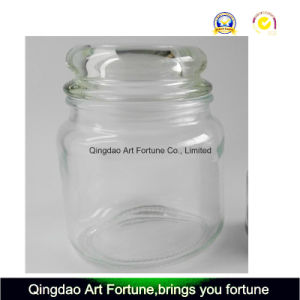 Yankee Style Glass Jar with Flat Glass Lids pictures & photos