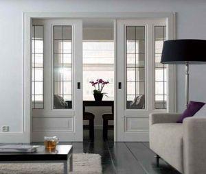 Interior Wood Glass Sliding Door pictures & photos