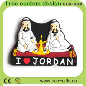Souvenir Tourists Products PVC Fridge Magnet Gifts Jordan Costmized (RC-TS20)