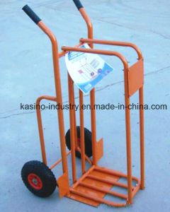 440 Lb Capacity Strong Utility Wooden Firewood Hand Truck Hand Trolley Cart (Competitive price) pictures & photos