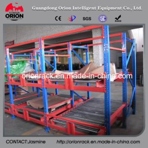 Ssteel Storage Warehouse Flow Gravity Shelves pictures & photos