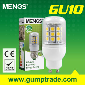 Mengs® GU10 5W LED Bulb with CE RoHS Corn SMD 2 Years′ Warranty (110160015)