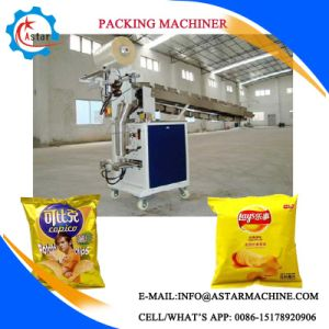 Potato Chips Packing Machine with Nitrogen Jnjection Device pictures & photos