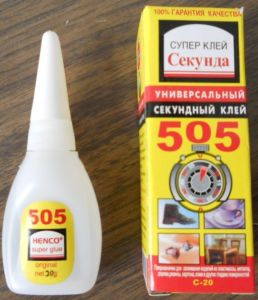 Bottle 505 Super Glue pictures & photos