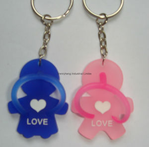OEM Custom PVC Keychain Rubber Keychain Key Chain pictures & photos