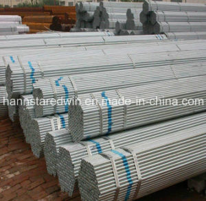 Galvanized Round Steel Pipe/Steel Tube Supplier pictures & photos