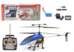 RC Toy: Big Size 3.5CH RC Alloy Helicopter (Alloy, 8005)