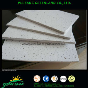 Mineral Fiber Ceiling Tiles/Mineral Fiber Ceiling Panels/Mineral Fiber Ceiling Board 595X595mm pictures & photos