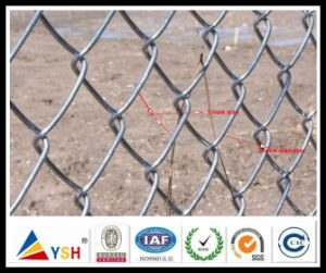 Hot Dipped Galvanized Chain Link Mesh