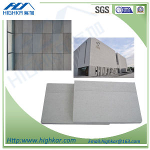 Acoustic Sound Insulation Fibre Cement Partition Board for Wall Decorative pictures & photos