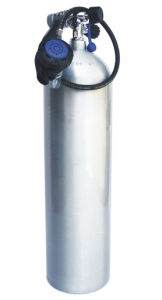 Aluminum Scuba Diving Tank with Value