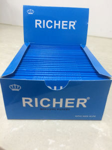 Custom Brand 1 1/4 Rolling Paper with 100 Booklet One Display Box pictures & photos