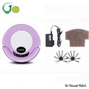 Purple Mini Floor Vacuum Cleaner Robot for House Clean Sweeper Device for Home Appliance Mop Robot Cleaner pictures & photos